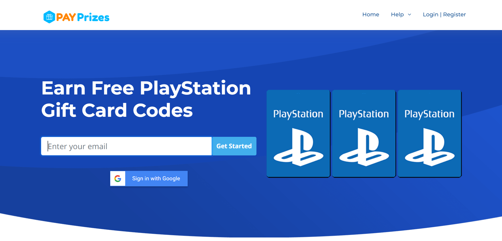 Free PS Plus Codes at PayPrizes