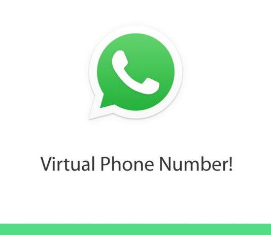 Free Virtual Phone Number for WhatsApp