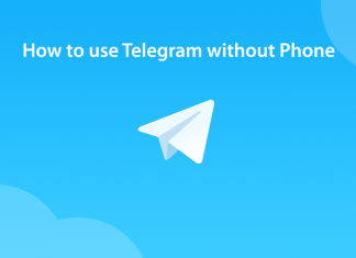 Use Telegram without Phone number