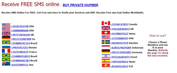 Virtual Phone Number for Google