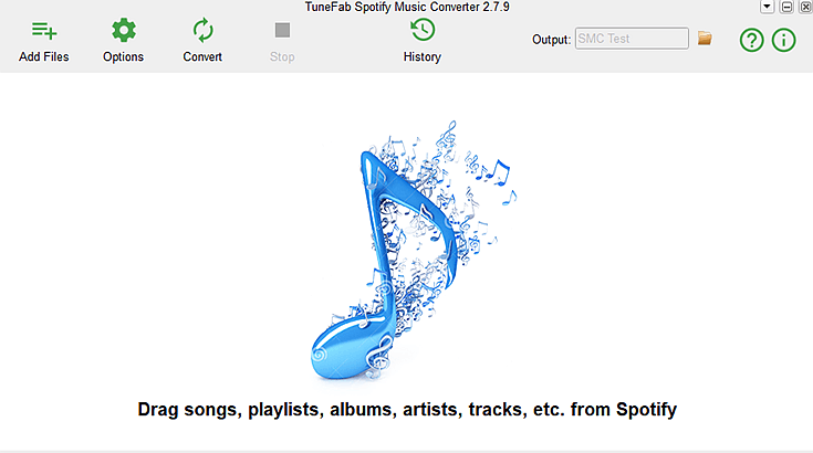 Spotify Music Converter Interface
