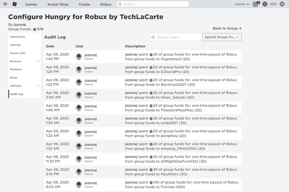 techlacarte-roblox-group