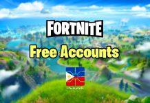 free fortnite accounts