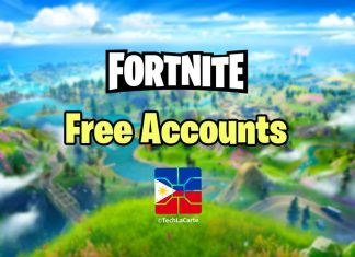 free fortnite accounts